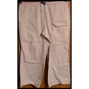 Venezia cargo jean pants size 26/28